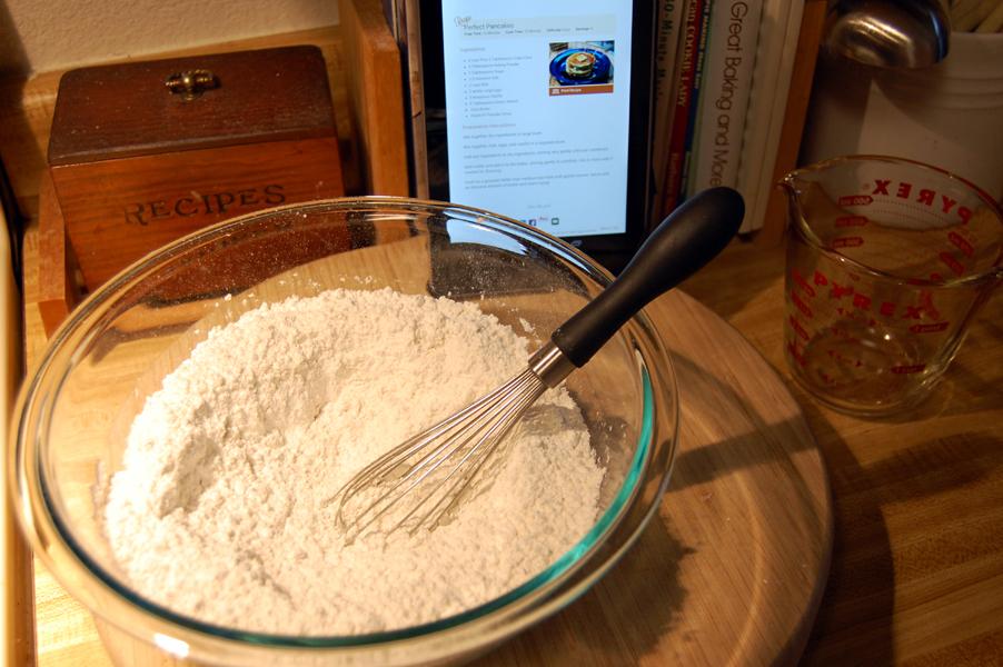 Hello, flour
