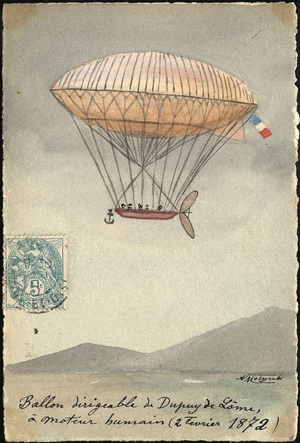 1872: De Lome's Airship